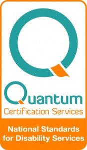 Quantum_Certification Mark_national standards of disability services Iss 1 Rev0